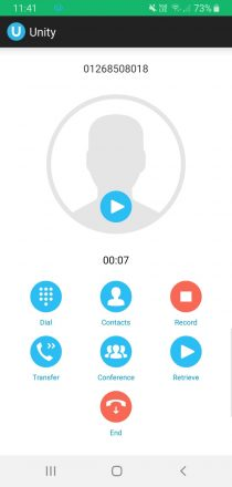 Android - Live Call